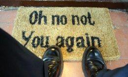 unwelcome mat